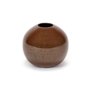 Vaza maro ruginiu din ceramica 8 cm Terres de Reves Serax