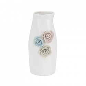 Vaza multicolora din portelan 23 cm Lausanne Mauro Ferretti