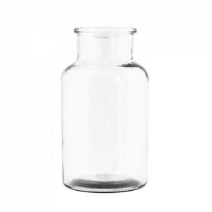 Vaza transparenta din sticla 25,5 cm Bola House Doctor