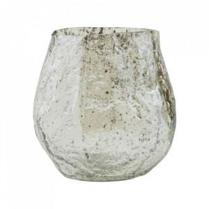 Vaza verde deschis din sticla 10 cm Moun House Doctor