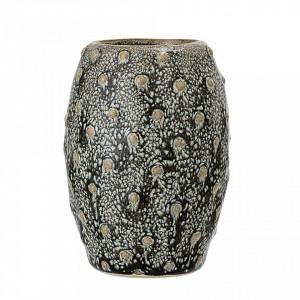 Vaza verde din ceramica 6,5x9 cm Bloomingville
