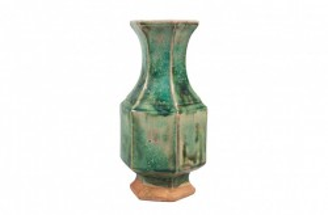 Vaza verde din ceramica Otim Versmissen