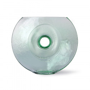 Vaza verde din sticla 25 cm Organic Circle HK Living