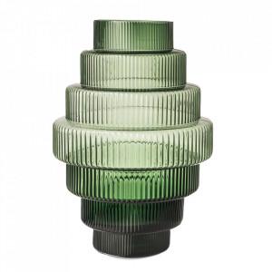 Vaza verde din sticla 50 cm Steps Pols Potten