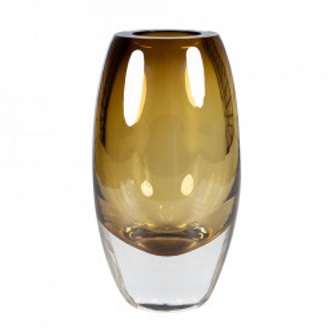 Vaza verde oliv din sticla 24 cm Bullit Versmissen