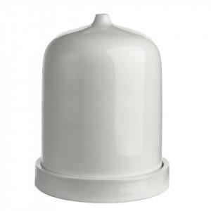 Veioza alba din portelan 33 cm Bell S Pols Potten