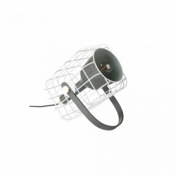 Veioza din metal alb Cage White Label