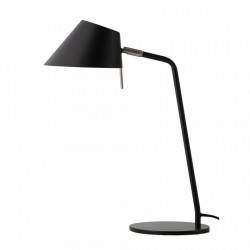 Veioza neagra din metal 50 cm Office Frandsen Lighting