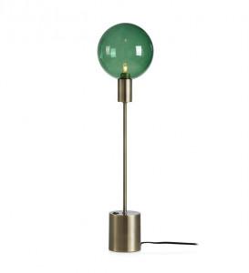 Veioza verde din sticla si metal 60 cm Uno Antique Green Markslojd