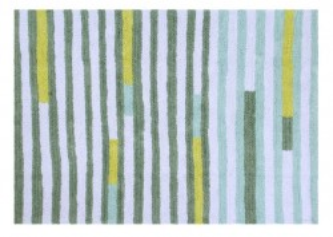 Covor dreptunghiular multicolor din bumbac 140x200 cm Happy Lanes Lorena Canals