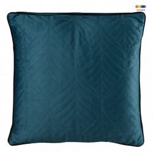 Perna decorativa patrata albastra din catifea 45x45 cm Crystal Blue Zago