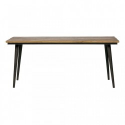 Masa dining din fier si lemn 90x220 cm Guild Be Pure Home