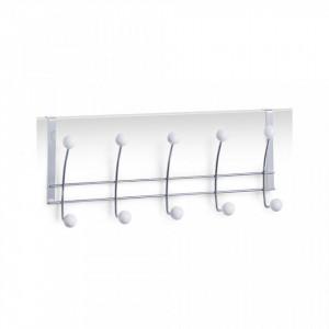 Cuier argintiu din metal pentru usa Door Hanger Chromed Zeller