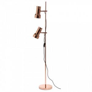 Lampadar aramiu din metal cu 2 becuri 140 cm Klassik Frandsen Lighting