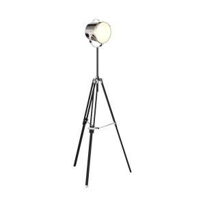 Lampadar argintiu din metal 166 cm Energy Zuma Line
