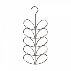 Umeras multiplu negru din metal Flower Hanger Zeller