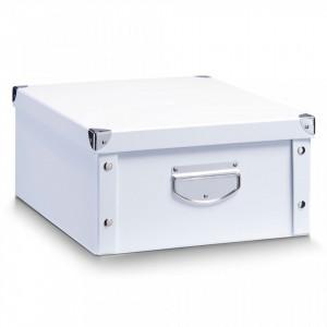Cutie alba cu capac din carton White Cardboard Maxi Zeller