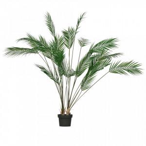 Planta artificiala verde cu ghiveci 110 cm Palm Woood