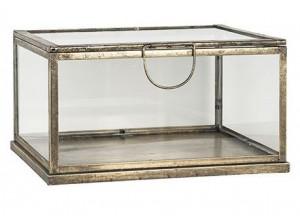 Cutie din fier si sticla pentru bijuterii Rose Richmond Interiors
