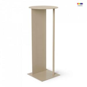 Piedestal crem din metal 75 cm Place Cashmere Ferm Living