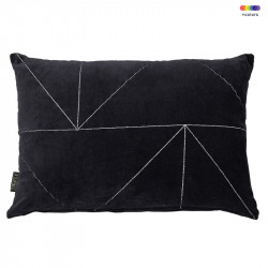Perna decorativa dreptunghiulara din bumbac 40x60 cm Malina Obsidian LifeStyle Home Collection