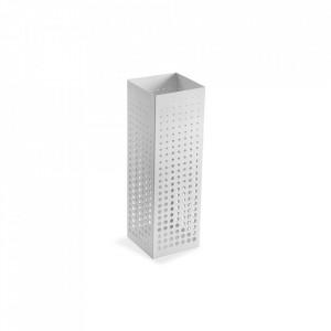Suport alb din metal pentru umbrela 48 cm Classy White Versa Home
