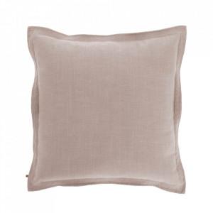 Fata de perna roz din textil 60x60 cm Maelina La Forma