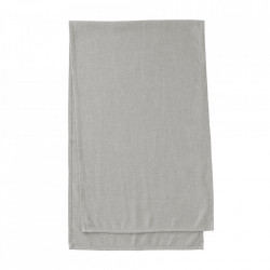 Traversa masa gri din textil 50x160 cm Samatay La Forma
