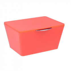 Cutie rosu corai din elastomer termoplastic cu capac Nalini Wenko