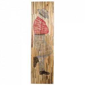 Decoratiune de perete din lemn de mango 51x83 cm Man Santiago Pons