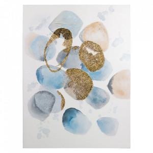 Tablou multicolor din lemn de pin 90x120 cm Kolop Santiago Pons