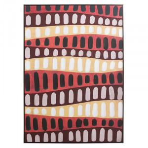 Tablou multicolor din MDF 100x140 cm Lines Santiago Pons