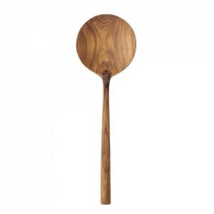Lingura maro din lemn de tec Lina Bloomingville