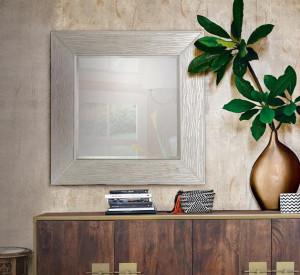 Oglinda patrata din polirasina si sticla 100x100 cm Ivy Giner y Colomer