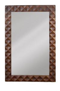 Oglinda dreptunghiulara din lemn si sticla 80x120 cm Beka Giner y Colomer