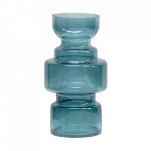 Vaza albastra din sticla 30 cm Expressive Be Pure Home