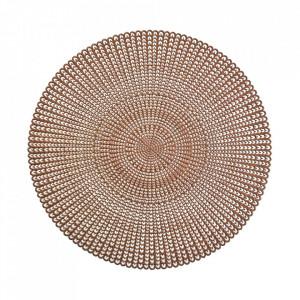 Protectie masa rotunda aramie din PVC 41 cm Cut Out Zeller