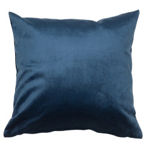 Perna decorativa patrata albastra din catifea 45x45 cm Velia Santiago Pons