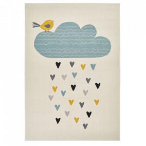 Covor crem/multicolor din polipropilena 120x170 cm Vini Lovely Rainfall Zala Living