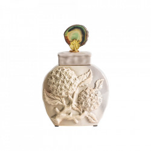 Recipient cu capac crem din ceramica 20x31 cm Gredel Vical Home
