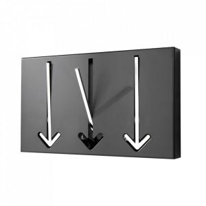 Cuier negru din metal Arrow Invicta Interior