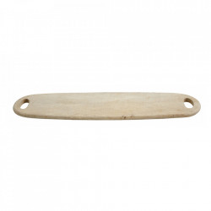 Tocator oval maro din lemn 20x78 cm Topas Nordal