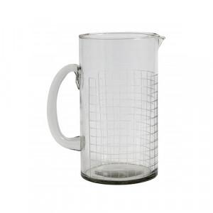 Carafa transparenta din sticla 1 L Rina Nordal