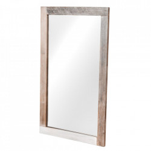 Oglinda din lemn de salcam si MDF 70x120 cm Adesso Livin Hill