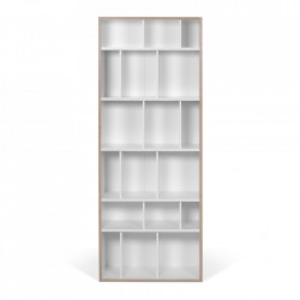 Biblioteca alba/maro din placaj 188 cm Group 72 TemaHome