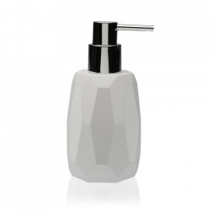 Dispenser sapun lichid alb din rasina 7,5x16 cm Clemens Versa Home