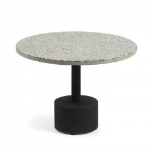 Masa cafea rotunda cu blat terrazzo 55 cm Melano La Forma
