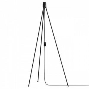 Baza lampadar negru din aluminiu 109 cm Tripod Black Umage
