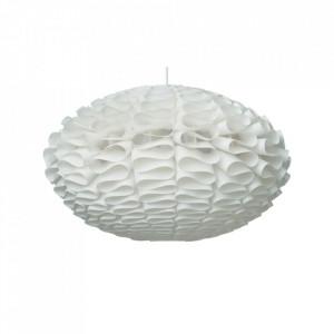 Abajur alb din plastic Waves Large Normann Copenhagen