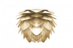 Abajur auriu din polipropilena si policarbonat Silvia Brushed Brass Umage